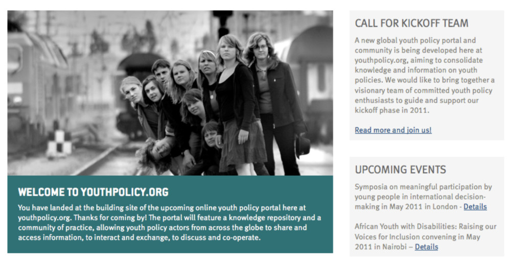 Online Magazine Youthpolicy.org